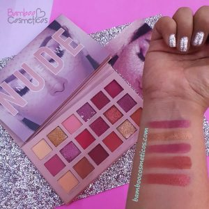 Paleta Sombras Nude Huxiabeauty