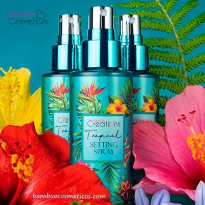 Fijador Setting Spray Tropical 1pz Beauty Creations