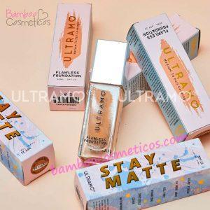 Base Maquillaje Stay Matte 6pz Ultramo