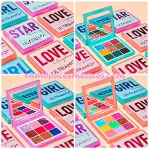 Paleta De Sombras Girl Star Love 3pz Ultramo