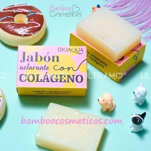 Jabon Aclarador Colageno 1pz Bioaqua
