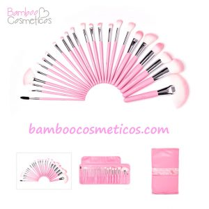 Brochas Cotton Candy 24pz Beauty Creations