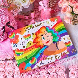 Paleta Sombras Love Is Love 88 Sombras Ultramo